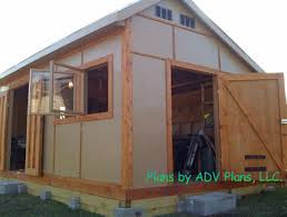 8x10 Saltbox Shed Plans by Shed Designs Free Step By Step Shed Plans