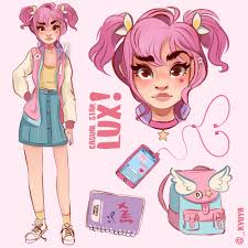 100 Star Lux Fanart And Jinx Casual Champions LOL League Of Legends