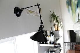 swing arm wall sconce hardwired ideas