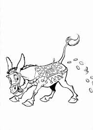Efteling Donkey Who Make Gold Coin Coloring Pages