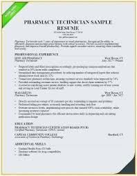 Pharmacy Technician Resume Skills New Example Pharmacist Sample
