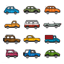 100 Free Cars And Trucks Collection Of Cars And Trucks Illustration Stock Vector 445128
