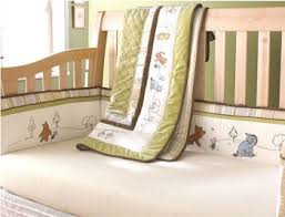Classic Pooh Crib Bedding by Baby Winnie The Pooh Nursery Theme Design And Decorating Ideas