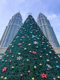 Flagpole Christmas Tree by 10 Things You Must Do In Kuala Lumpur Restless