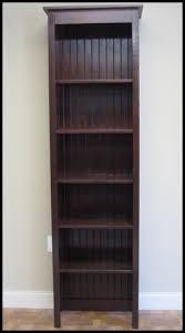 Rustic Wood Retail Bookcase Shelf Display Burgundy