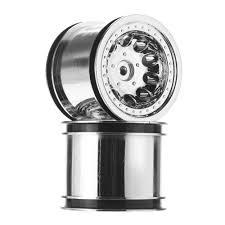 100 Chrome Truck Wheels RPM Revolver 22 Electric Rear TowerHobbiescom