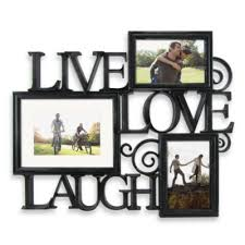 Buy Live Laugh Love Photo Frame Collage From Bed Bath Beyond