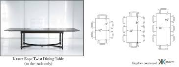 Standard Dining Room Table Size 2 12 Seater Dimensions