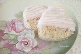 Rice Krispie Christmas Trees White Chocolate by Gratefulness Rice Krispies Squares Just A Smidgen