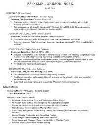 Sample Resume For System Administrator