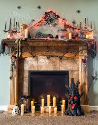 Halloween Fireplace Mantel Scarf by Spooky Halloween Fireplace Mantel Ideas Decor For Mantels Of All