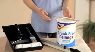 how to cover stains and hairline cracks on your ceilings polycell