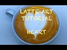 LATTE ART TUTORIAL HEART 2015