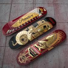 Blank Skateboard Decks 80 by Skateboard Decks By Primitive Skateboarding The Daily Board