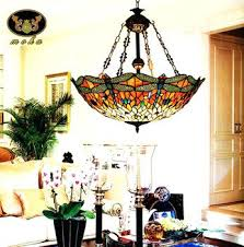 Luxury Stained Glass Dining Room Light Fixtures