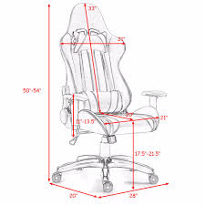 US $127.99 |Giantex Racing Style High Back Gaming Chair Reclining Chair  Office Computer Office Furniture HW59418GN-in Office Chairs From Furniture  On ...