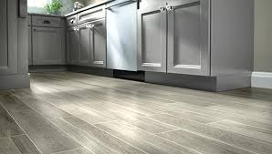 Gray Wood Look Tile Flooring Imitates In Planks With Light Dark Or Distressed