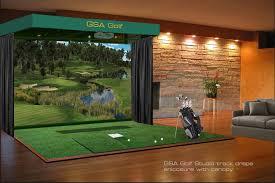 gsa advanced golf simulators enclosures