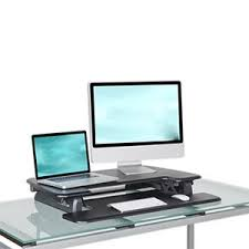 varidesk pro plus standing desk posture people