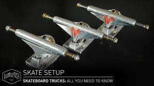 SKATEBOARD TRUCKS: All You Need To Know – Skate Setup | Titus - YouTube