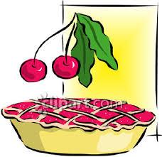 0060 0808 0913 4628 Cherry Pie Clip Art clipart image