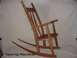 Hand Crafted Natural Edge Curved Back Walnut Rocking Chair ... Antique Handcarved Wood Upholstered Rocking Chair Rocker Awesome The Collection Of Styles Antique Cane Rocking Chair Hand Carved Teak Wood Rocking Chair Fniture Tables Sunny Safari Kids Painted Fniture Wooden An Handcarved Skeleton At 1stdibs Old Retro Toy Stock Photo Edit Now India Cheap Chairs Whosale Aliba Andre Bourgault Wood Figures Lot Us 2999 Doll House 112 Scale Miniature Exquisite Floral Fabric Pattern Chairin Houses From Toys Hobbies On Grandmas Attic Auction Catalogue Gooseneck Carved Crafted Windsor By T Kelly