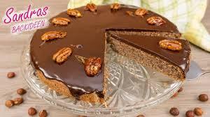 pecannuss schoko kuchen rührkuchen nusskuchen einfach lecker leichtes rezept für springform