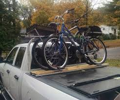 100 Pickup Truck Kayak Rack Bike Attachment For Above The Cover 20 After