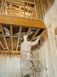 Insulating Cathedral Ceilings With Spray Foam by Insulation Services Bill Merola Company Pittsburgh