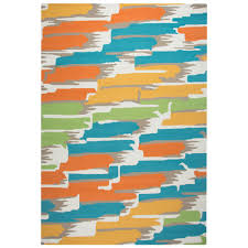 Rv Patio Mats 9x18 by Red Striped Outdoor Rugs Rugs The Home Depot