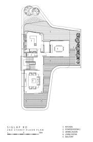 100 Siglap Road Second Floor Plan Ninety7 House By Aamer Architects