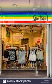 Sportsgirl Womens Fashion Clothing Shop Front And Signage