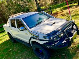 100 Truck Snorkel Toyota Hilux N70 Twin Combo Lowcut Style With Crossover