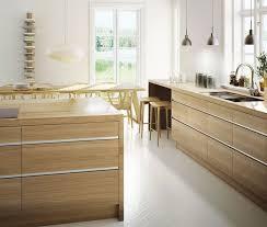 cuisine moderne bois chêne küche eiche küchendesign