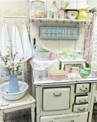 Shabby Chic Kitchen Decorating Sweet Decor Ideas To Try Table Decorations