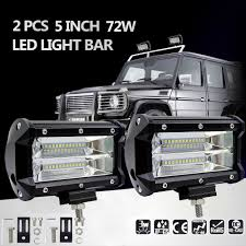 2Pcs 5inch 72W LED Light Bar Spot Beam Work Light Driving Fog Light ... 3 Inch Round 12w Led Fog Light Tractor 6000k Spot Xuanba 6 70w Cree Led Work For Atv Truck Boat Amazoncom Chevy Silverado 99 02 Tahoe Suburban 00 05 0405 Ford Ranger Pickup Set Of Lights Everydayautopartscom Driver And Passenger Lamps Replacement For 18w Car Styling Driving Fog Light Lamp Offroad Car Pickup Morimoto Xb Ram Vertical Winnipeg Hid Front Bumper Spot Lamp Nissan Navara D40 01 03 04 06 Toyota Tundra Universal 70mm Fogs Complete Housings From The