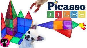 Picasso Magnetic Tiles Vs Magna Tiles by Picasso Tiles Pt33 Review 3d Magnetic Building Block Kimyokitten