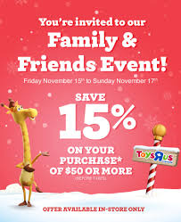 Toys R Us] Toys R Us - Family & Friends Sale - Nov. 15-20 ... U Box Coupon Code Crest Cleaners Coupons Melbourne Fl Toy Stores In Metrowest Ma Mamas Spend 50 Get 10 Off 100 Gift Toys R Us Family Friends Sale Nov 1520 Answers To Your Bed Bath Beyond Coupons Faq Coupon Marketing Ecommerce Promotions 101 For 20 Growth Codes Amazonca R Us Off October 2018 Duck Donuts Adventure Opens Chicago A Disappoting Pop Babies Booklet Printable Online Yumble Kids Meals Review Discount Code Kid Congeniality I See The Photo And Driver Is Admirable Red Dye 5