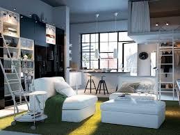 Furniture Living Room Chairs Ikea Modern White Sofa