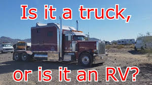100 Big Truck Sleepers RTR 2018 Unbelievable Sleeper Cab On This Semi Truck Tour And
