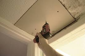 Popcorn Ceiling Patch Spray by Patch A Popcorn Ceiling Extreme How To