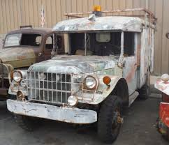 1954 Dodge M43 Ambulance, Complete And Orig. Drivetrain With 24 Volt ... 1954 Dodge Pickup Big Bargain Junk Mail Directory Index And Plymouth Trucks Vans1954 Truck 4 Sale Farristracycoxnet For More Pictures Stake Body Canada Way Of Our Fathers Tractor Power Wagon Berlin Motors M37 Sale Near Cadillac Michigan 49601 Classics On Pickup Classiccarscom Cc1048638 12 Ton This Truck Was Equi Flickr New Jacked Up Easyposters Kotaksuratco F154 Chicago 2015 Factory Oem Shop Manuals Cd Detroit Iron