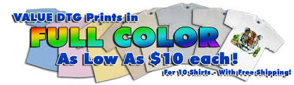 Full Color Custom T Shirts Fast And Cheap