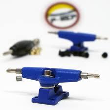100 Fingerboard Trucks PRep 32mm SPACED Blue Broken Knuckle