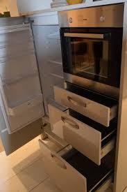 einbauküche lack hochglanz grau u form inkls e geräte