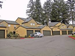 27 – Tigard OR apartments with garages dominating entrance