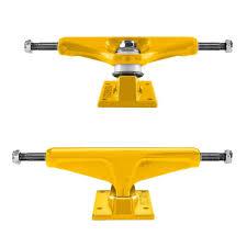 100 High Trucks Venture Skateboard Primary Color Yellow 52 742091338012