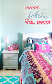 Wallternatives Tween Bedroom Decor Girls Makeover Aqua