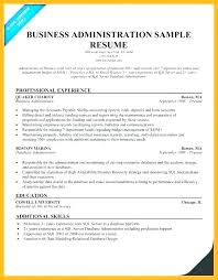 Business Manager Resume Objective Administration Sample Office Objectives Medical
