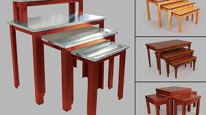 Add High End Appeal To Displays With New Wood Nesting Tables